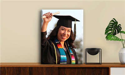 Grad Canvas Prints