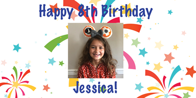 Birthday Banner with Picture